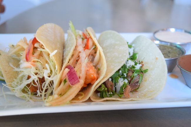 5 Family-Friendly Places in Dallas to enjoy and get out of the summer heat - Dive Coastal Cuisine is serving up fresh seafood, healthy dishes, and amazing flavors - Baja Street Tacos