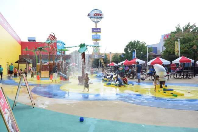 5 Family-Friendly Places in Dallas to enjoy and get out of the summer heat - LEGOLAND Discovery Center and their outdoor water play area