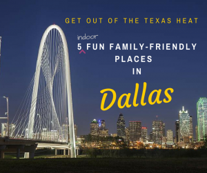 5 Family-Friendly Places in Dallas- Need a reason for a weekend getaway - Here are 5 great destinations to enjoy when in the Dallas area