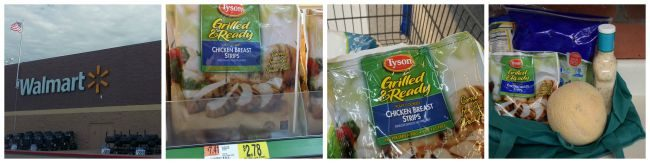 Pick up everything you need for these Make any Caesar salad into a tasty Chicken Caesar Salad Wrap atWalmart