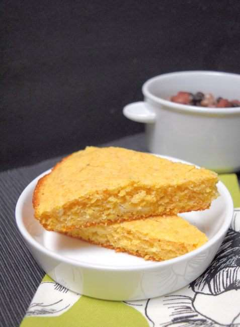 Southern Cornbread (no refined sugar recipe)