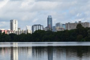 Kayaking in Austin with Live Love Paddle - Catch amazing views of Austin skyline