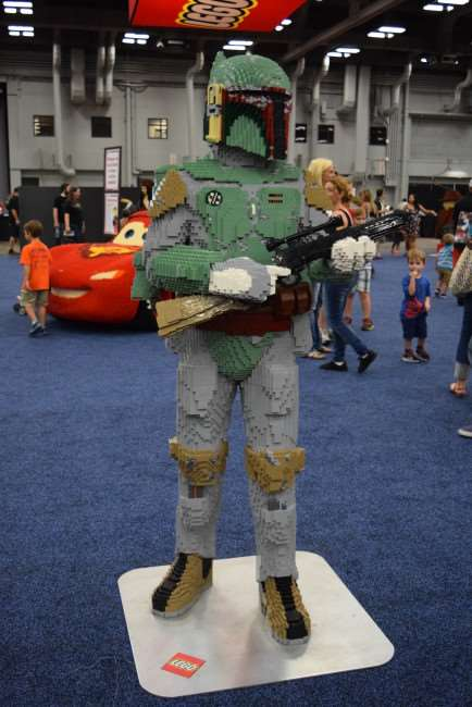 There's no place like LEGO KidsFest - Boba Fett figurine from Star Wars