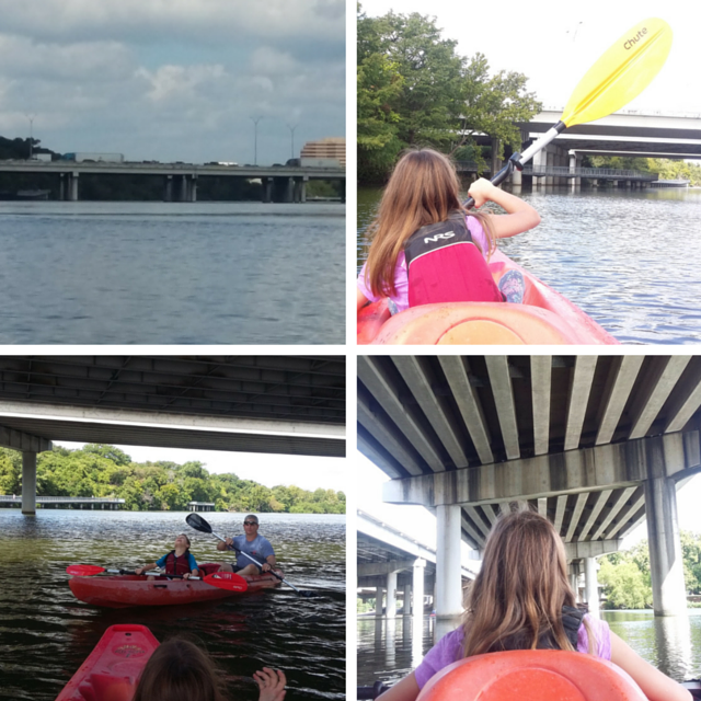 Kayaking in Austin with Live Love Paddle