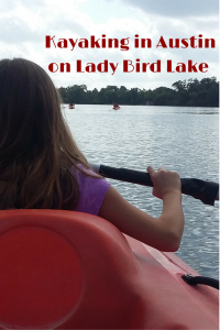 Kayaking in Austin on Lady Bird Lake with Live Love Paddle