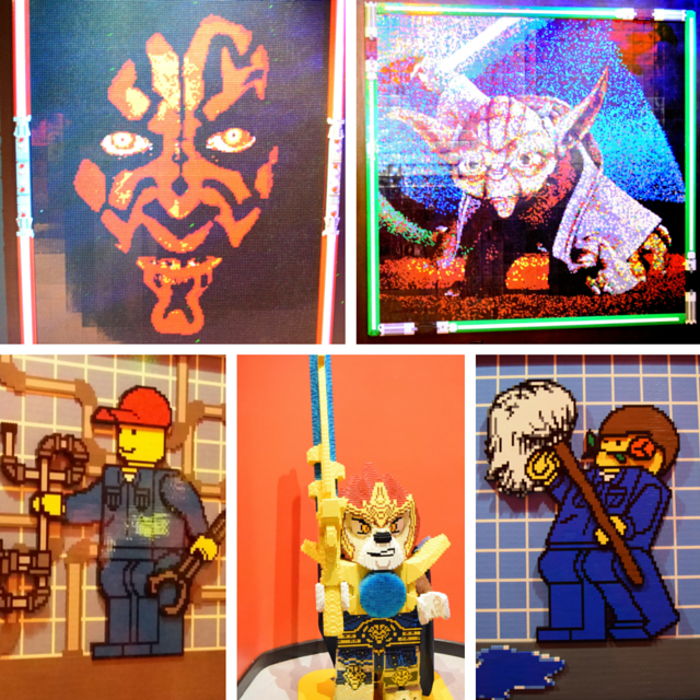 LEGOLAND Discovery Center Grapevine - Mini Figure Art