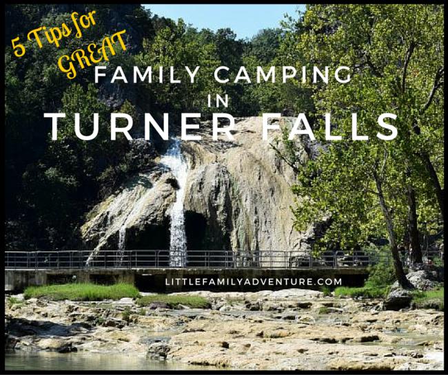Turner Falls Oklahoma Camping