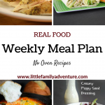No Oven Real Food Meal Plan