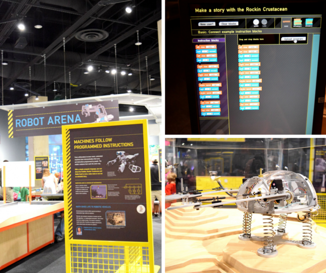 STEM & Robotics at Perot Museum of Nature and Science - Dallas