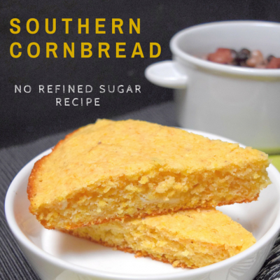Easy Southern Cornbread without sugar