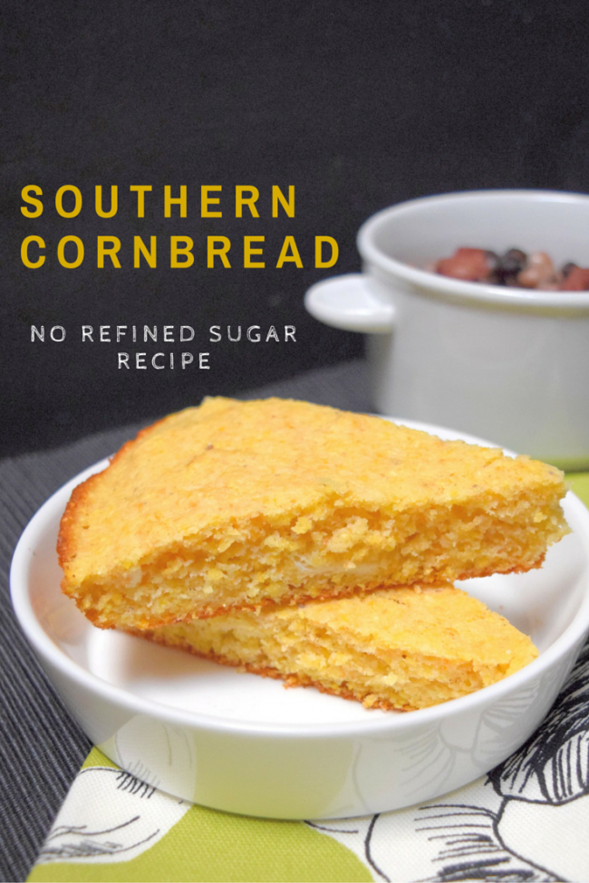 Southern Cornbread is a simple and delicious addition to any  meal.