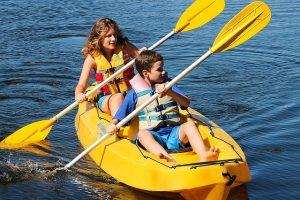Kayaking in Oklahoma