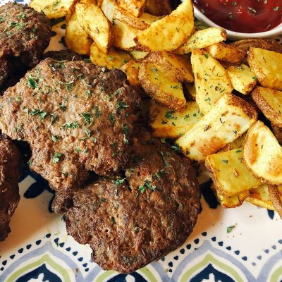 Frikadeller Recipe with Skillet Potatoes