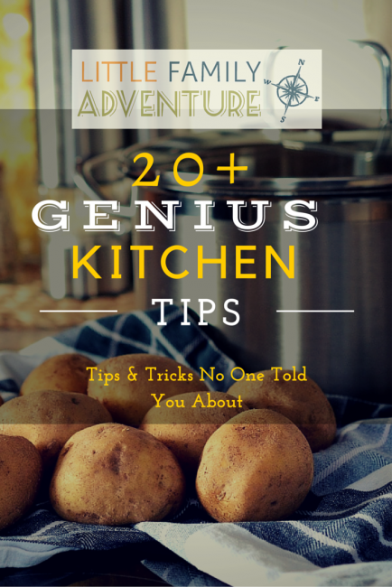 - 20+ Genius Kitchen Tips and Tricks to save time & money in the kitchen