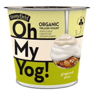 Gingered Pear Oh My Yog! Yogurt