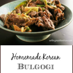 Korean BBQ Recipe for Beef Bulgogi Recipe