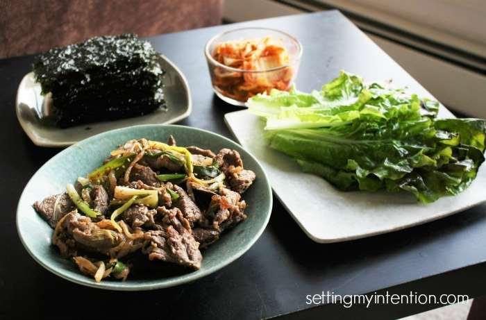Korean BBQ Beef Bulgogi