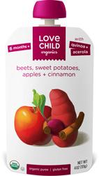 Organic Puree from Love Child Organics