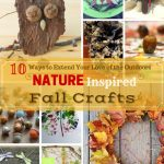 Nature Inspired Fall Crafts