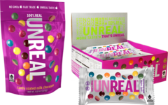 Unreal Candy - Candy Coated Milk Chocolates- 15 Best Organic Snack Foods