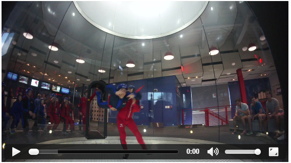 iFly Indoor Skydiving video