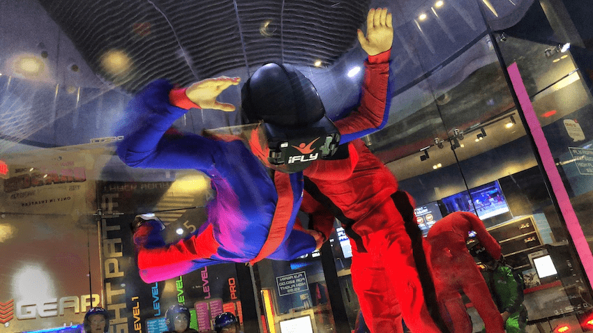Get Ready to Fly with Dragons at iFLY Indoor Skydiving