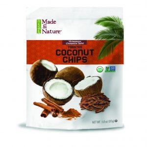 Vietnamese Cinnamon Swirl Coconut Chips - 15 of the Best Organic Snack Foods