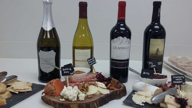 Easy Entertaining – Create an Amazing Cheese Platter for Less with ALDI - ALDI cheese and wine