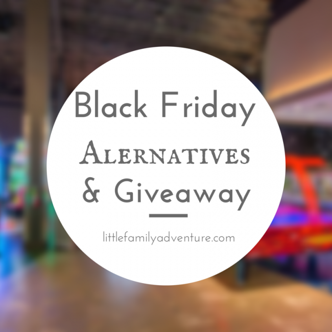Post Thanksgiving Activities & Giveaway - #FUNatics Black Friday Shopping Alternatives