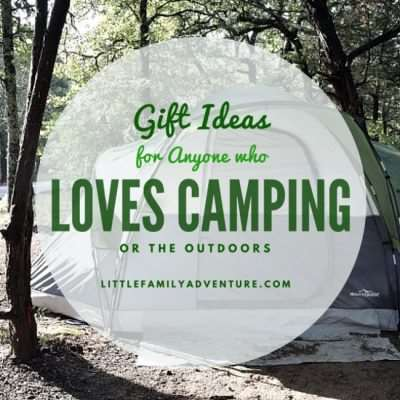 20+Gift Ideas for Campers or Anyone Who Loves the Outdoors
