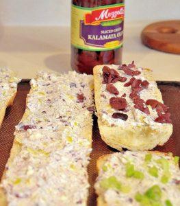 Delicious Greek Bread with Kalamata Olives plus a secret ingredient - #MezzettaMemories #ad
