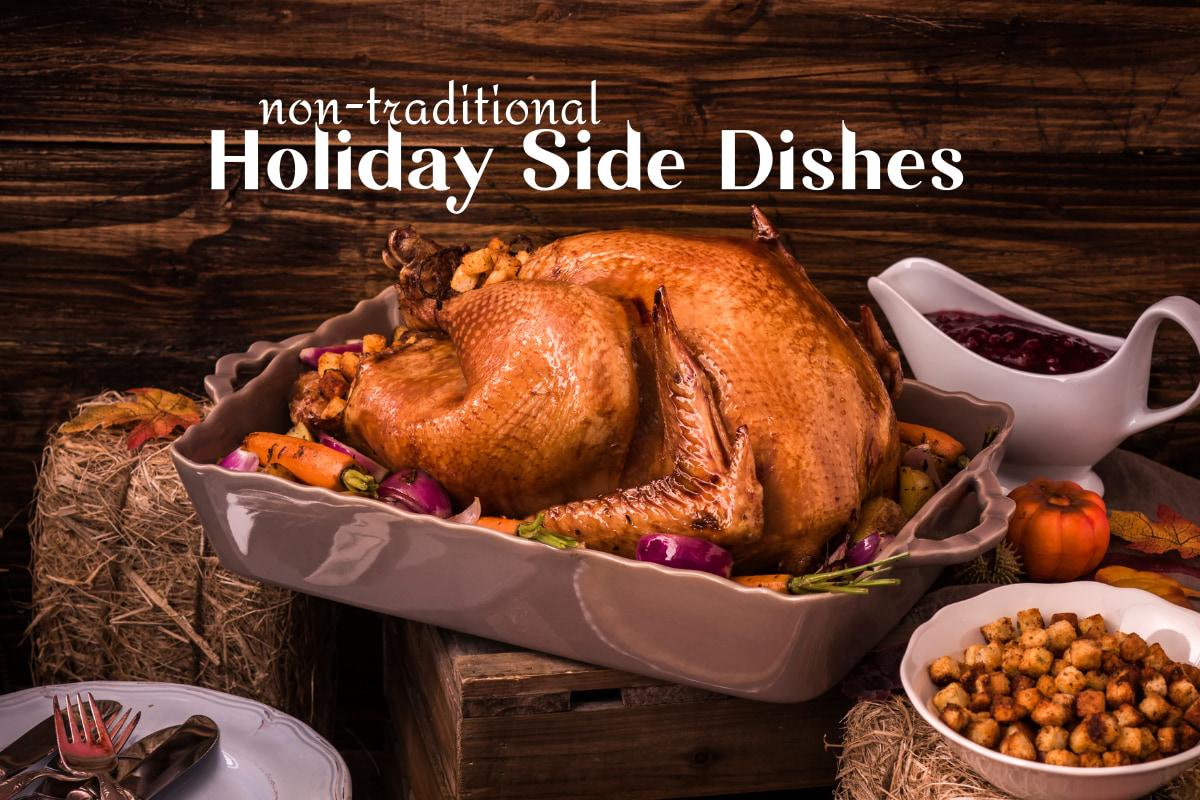 roast turkey ad sides
