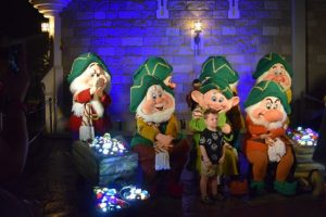 Once Uporn a Christmastime Parade during Mickey's Very Merry Christmas Party - 7 Dwarfs characters