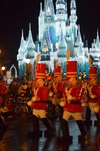 Once Uporn a Christmastime Parade during Mickey's Very Merry Christmas Party