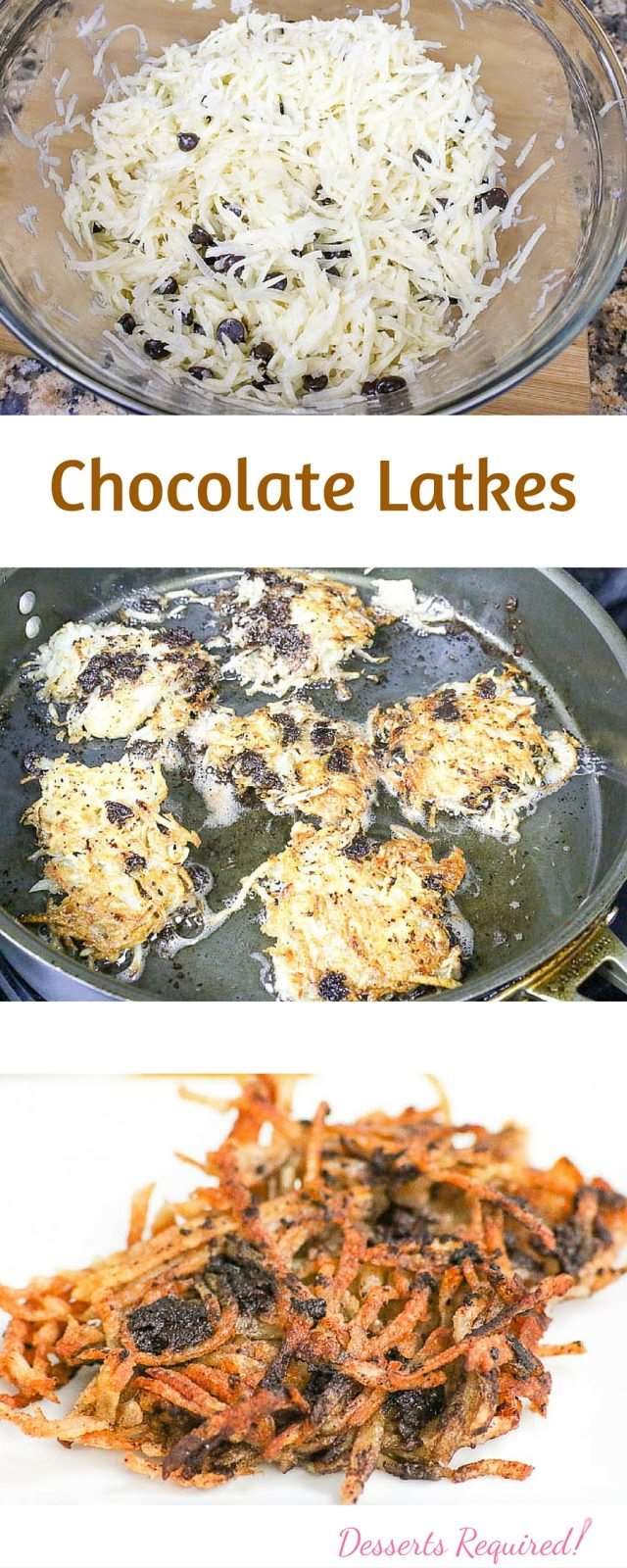 Sweeten up your Hanukkah celebration with a batch of Chocolate Latkes.
