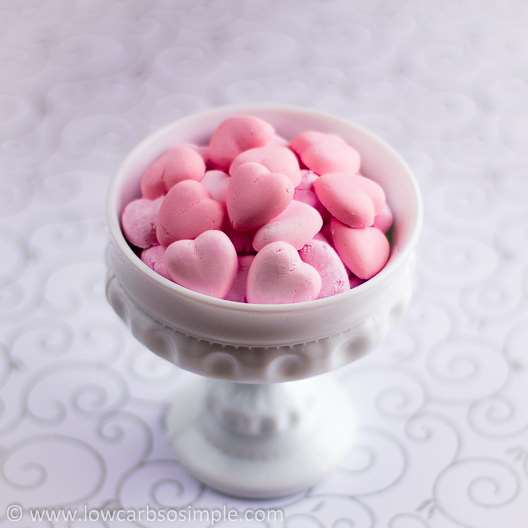 Sugar Free Cream Cheese Candies for Valentines Day