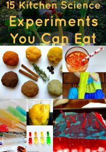 Kitchen Science Experiments You Can Eat