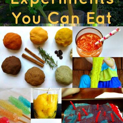 15 Kitchen Science Experiments You Can Eat