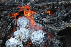 Campfire Muffins & Eclairs - Camping Foil Meals