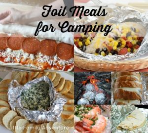 21 Tin Foil Meals for Camping