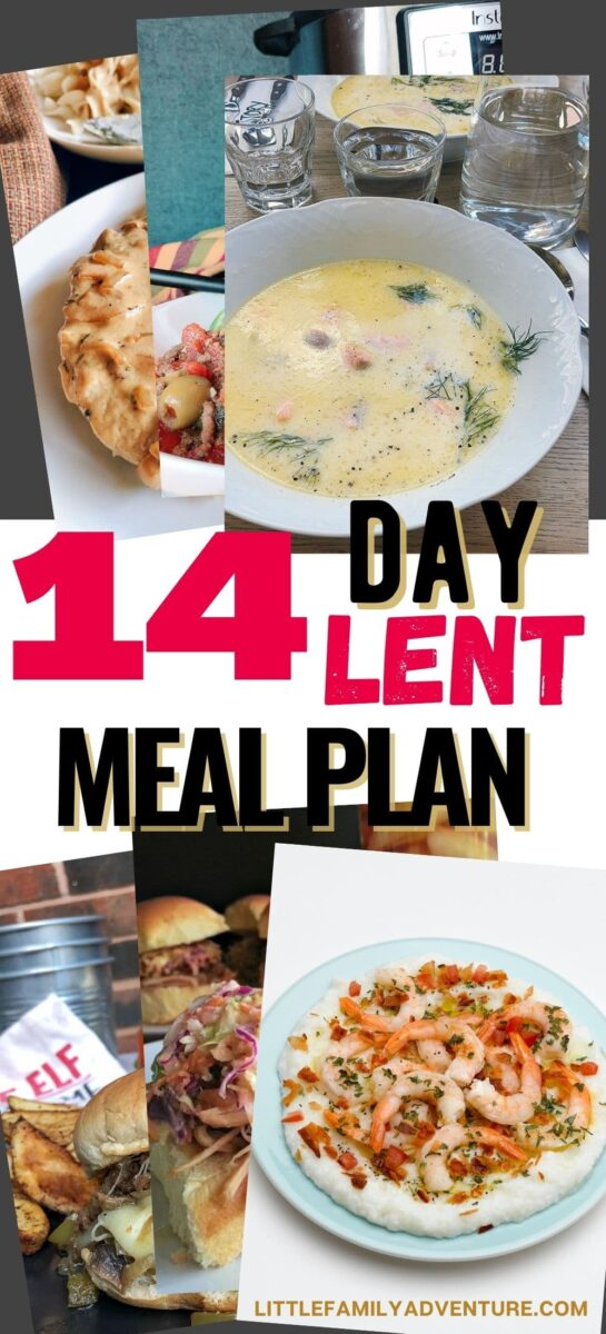 lent meal ideas