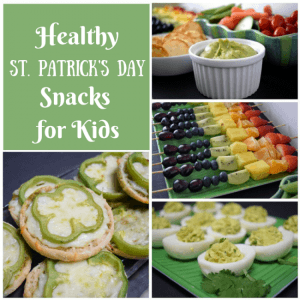 Healthy St. Patricks Day Snack Ideas for Kids