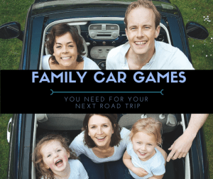 """A family road trip can be a lot of fun, but it can also be a little stressful. We have fun family car games you need to help alleviate stress and prevent """"Are We There Yet?"""""""