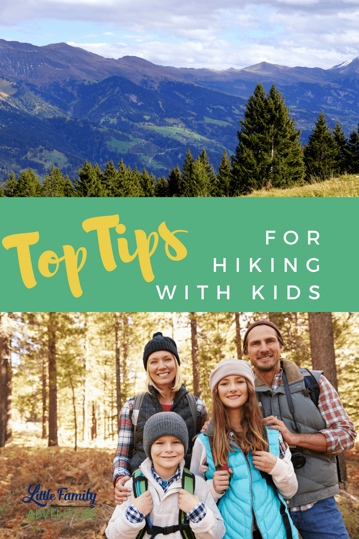 Top Tips for Hiking with Kids that will save your sanity - Opting outside and hiking is a great way to connect with your family, get active, and enjoy the great outdoors.