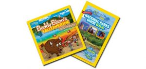 #KidsToParks Day Giveaway for National Geographic's Kids National Parks Guide USA Centennial Edition & Buddy Bison's Yellowstone Adventure
