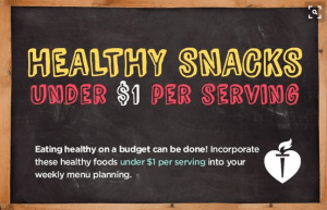 Healthy Snacks Under $1 per Serving - Find Your Why & Get Tips to Live a Healthier, Longer Life