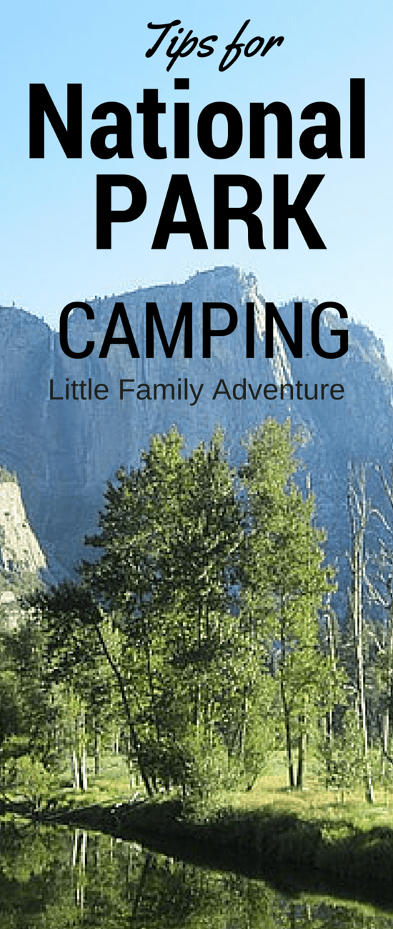 Tips for Camping National Parks