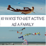 Spring is here! Now is the perfect time to get out and enjoy the warmer weather. Here are 10 Ways to get Active as a Family and a printable calendar for April