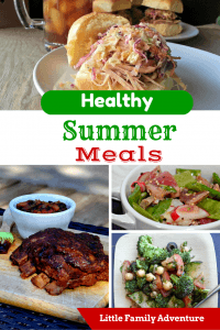 Healthy Summer Meals - This Summer Meal Plan is easy and delicious. When you want to eat healthy, you need a meal plan. Use the recipes included in this family-friendly meal planner to help you plan quick and easy meals that your family will love.