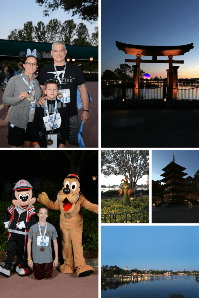 run Disney - Discovering magic at Disney World - if you get the chance to do a family fun run at Disney, do it. The memories you create are magical